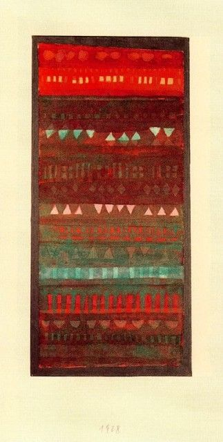 Paul Klee - Small Structures in Layers