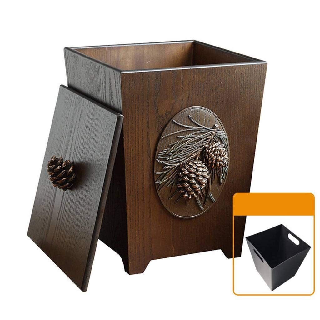 Minyu Vintage Decoration Trash Can Continue To The Product At The Image Link Affiliate Link Bathroomaccesso In 2020 Storage Buckets Jewelry Shop Display Trash Bins
