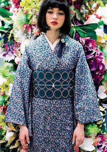 玉城ティナ ISETAN YUKATA SELECTION 2013 | Yukata kimono ...