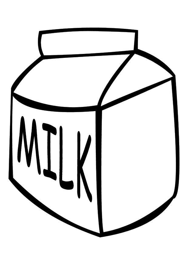 Milk Coloring Jidlo