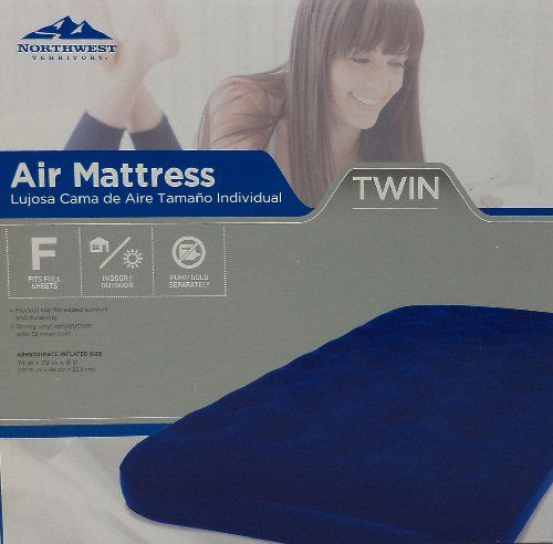 northwest territory air mattress how to inflate