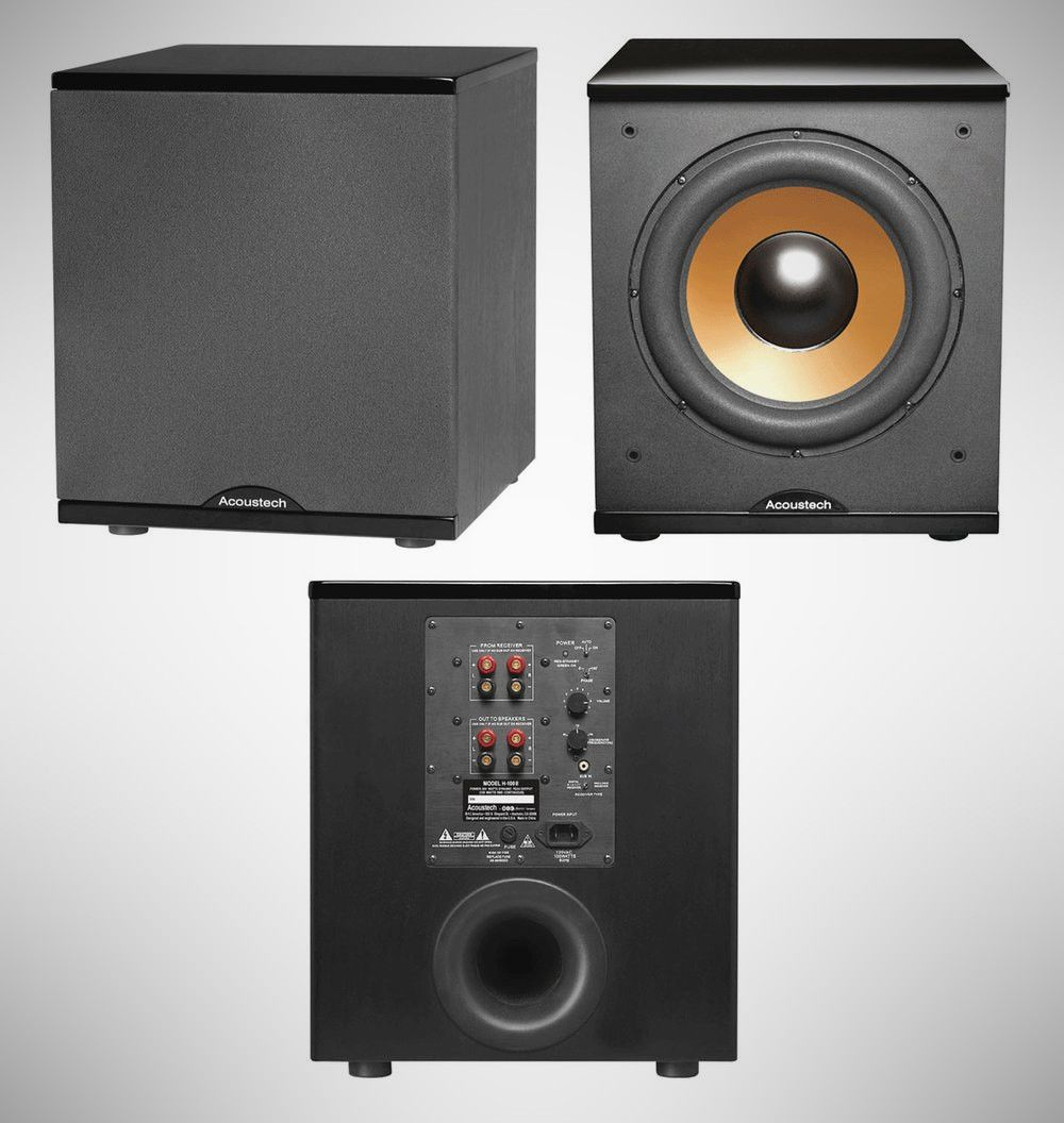 Loud Proud 11 Best Home Subwoofers Under 250 Subwoofer Home Theater Setup Gloss Black