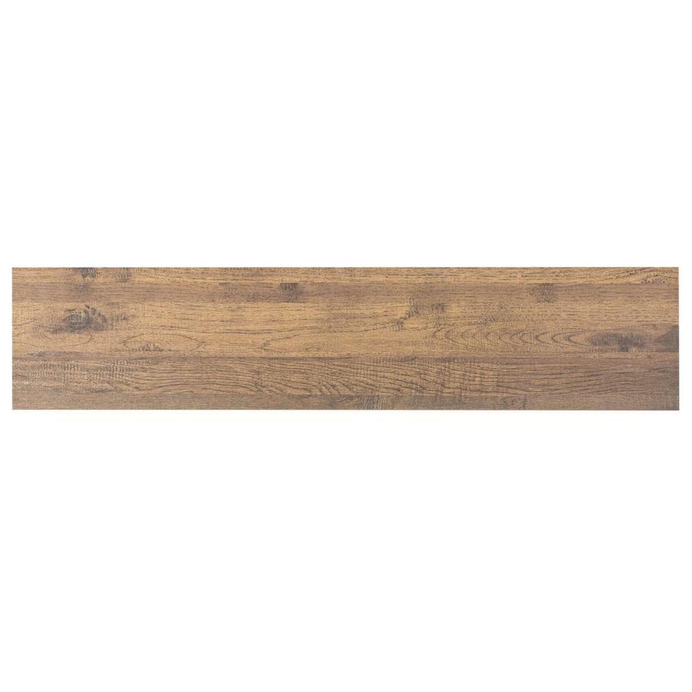 Natural Wood Plank Porcelain Tile