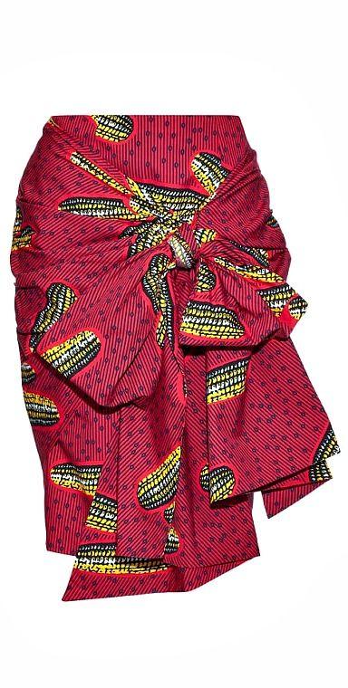 Attractive Designer Inspired Ankara Skirt. Ankara skirt made from print  LI05