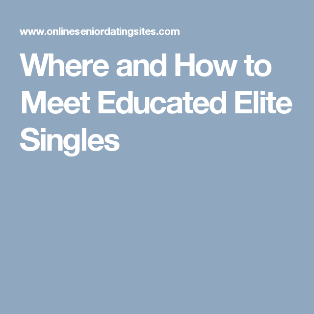 EliteMeeting.com Date Beautiful & Rich Singles