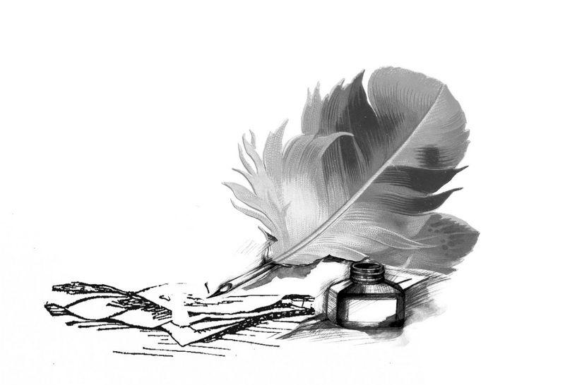 Черно белые стихи картинки