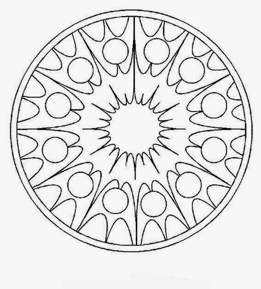 Mandalas Para Pintar: mandalas para imprimir   Mandalas   Pinterest ...