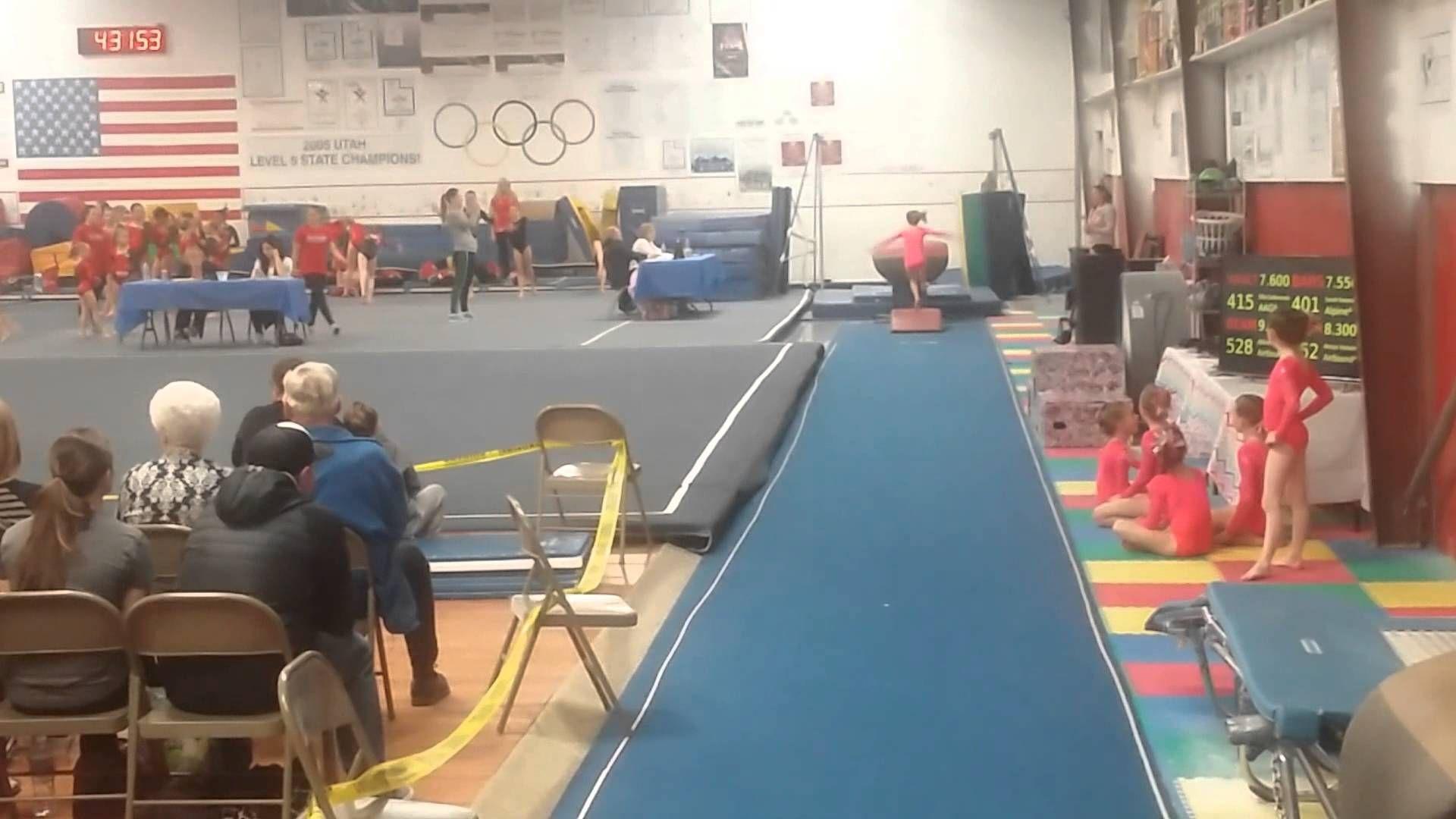 Savannah Usag Gymnastics Level Vault Routine