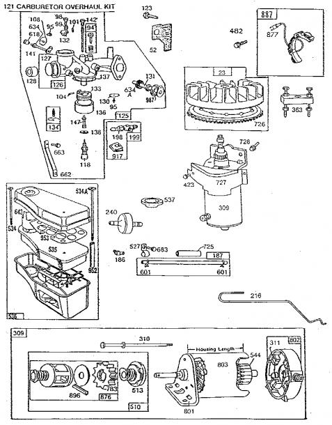 11 Hp Briggs And Stratton Engine Diagram Stratton Briggs Stratton Diagram