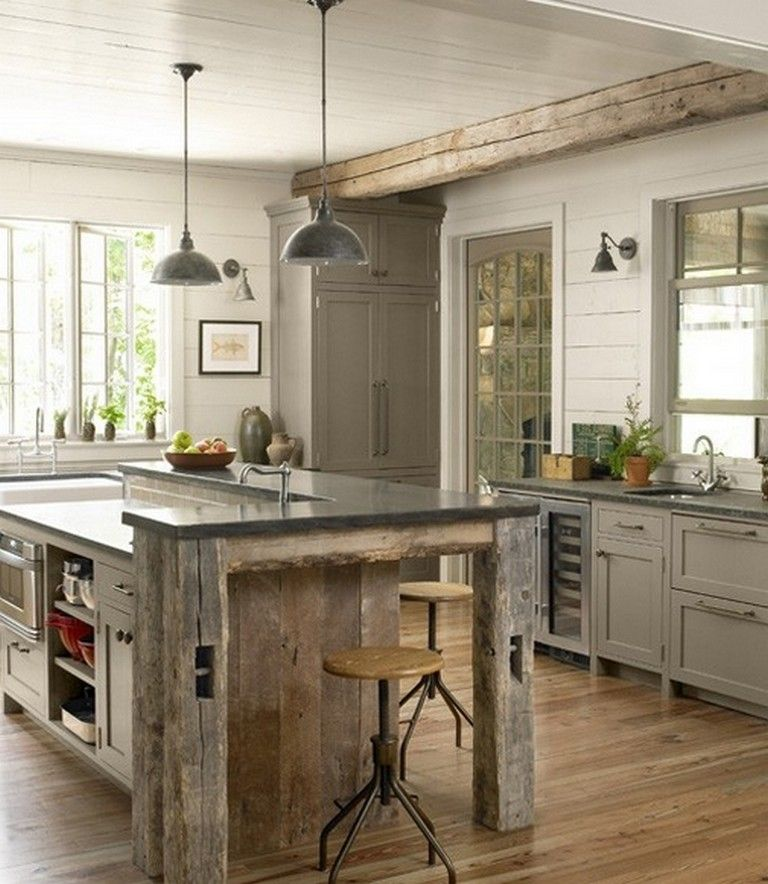 Incredible Kitchen Remodeling Ideas: 105+ Incredible Industrial Kitchen With Shaker Cabinets