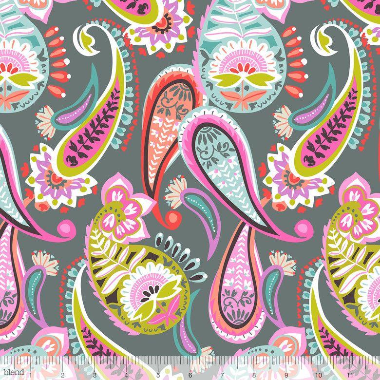 Sew Scrumptious Fabrics - Blend - Lottie - Lah -Tee- Dah (Grey), £3.00 (http://www.sewscrumptious.co.uk/blend-lottie-lah-tee-dah-grey/)
