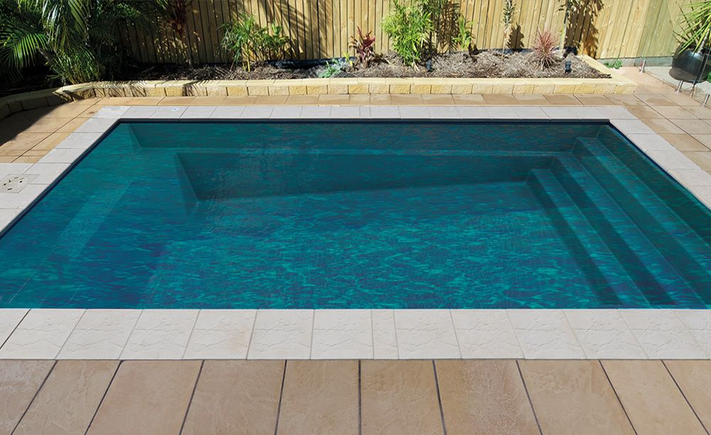 Davinci fibreglass pool is a great choice from just for Small fiberglass pools