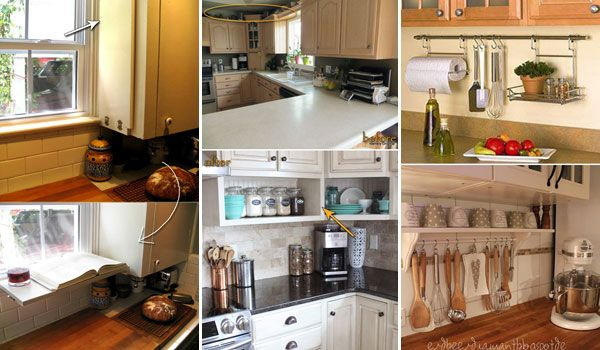 Bon Top 21 Awesome Ideas To Clutter Free Kitchen Countertops
