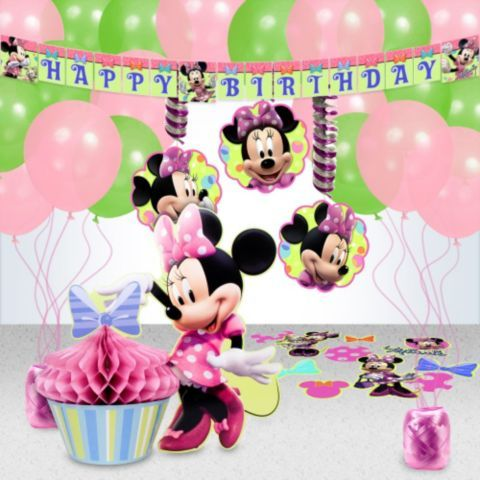 Minnie Mouse Party Decoration Kit