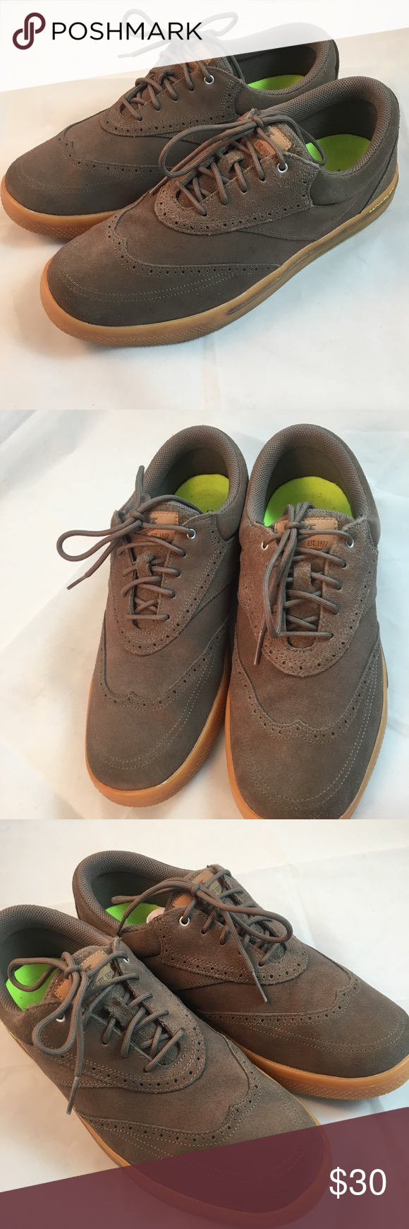 173d75699e85f Nike Lunar Swingtip Suede SD Mens Golf Shoes Great used condition 9W ...