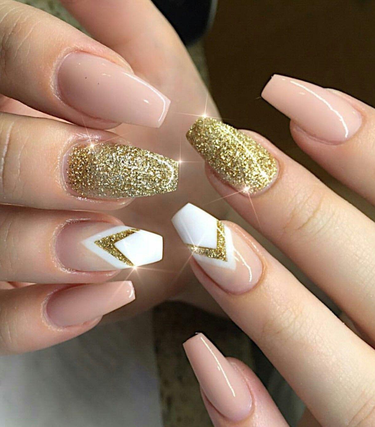 Pin by Kaye on Nails | Pinterest | Coffin nails