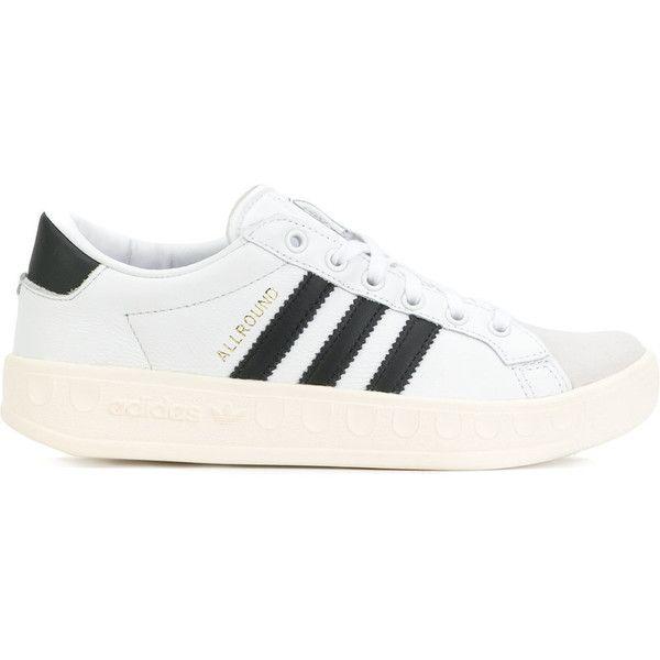 adidas shoes white flat