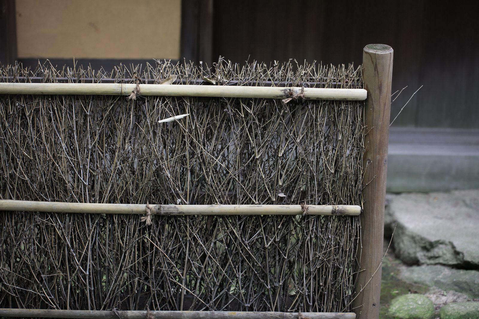 Bamboo grass fence 笹垣ささぜき fence california decor