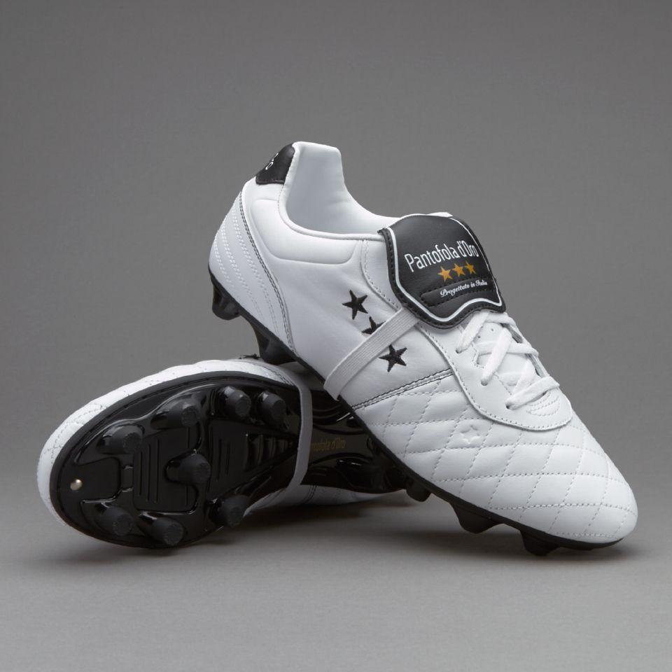 736f8f98e4a26 Pantofola dOro Emidio Premio FG - White/Black/Gold | PASIÓN ...