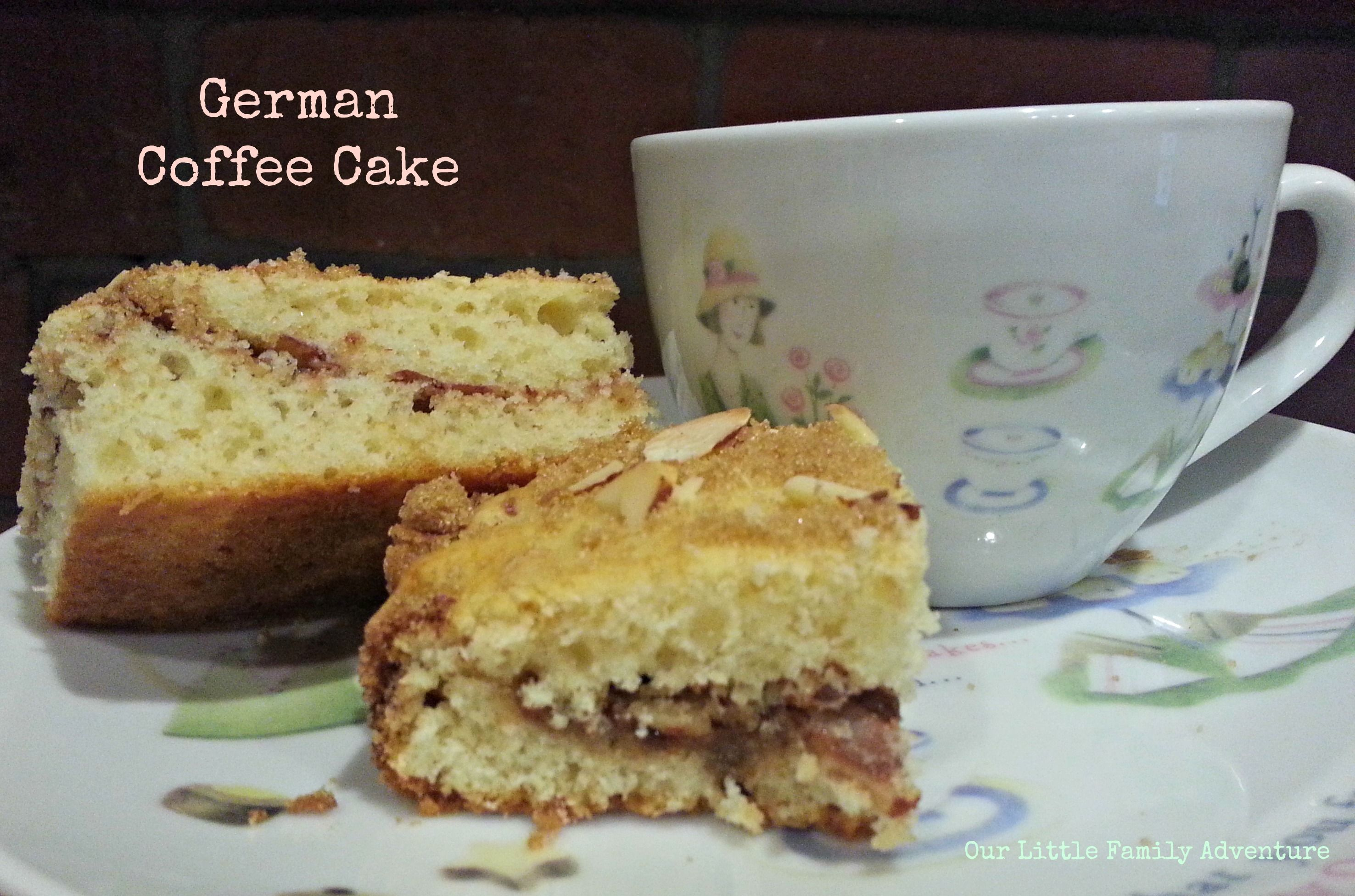 German Coffee Cake - Little Family Adventure
