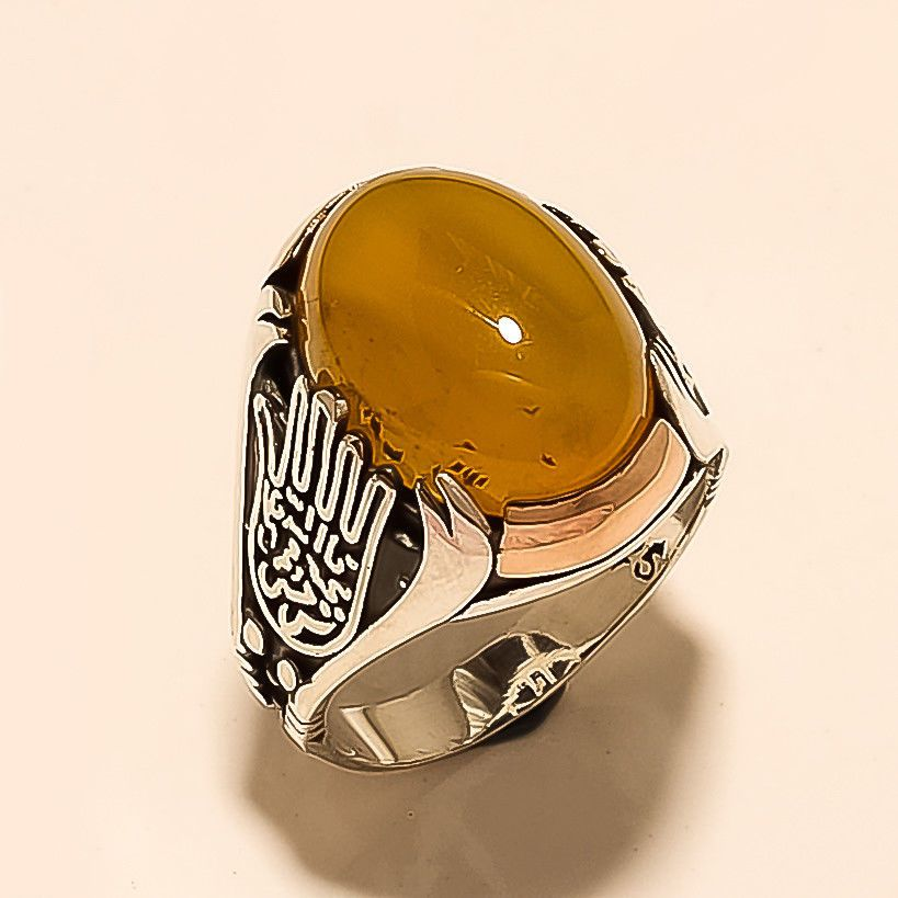 Details about  / Men/'s Ring 925 Sterling Silver Turkish Handmade Jewelry Agate Stone All Size