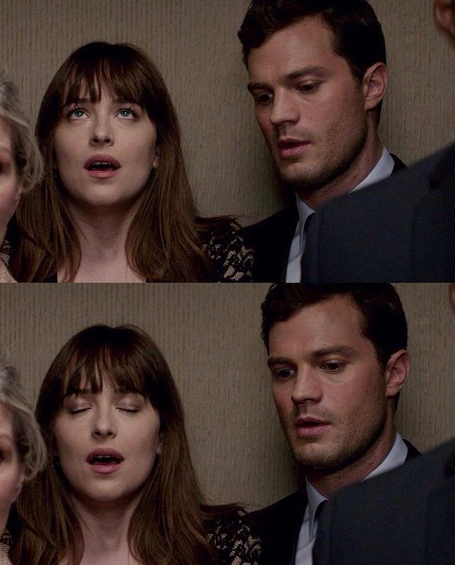 Elevator Scene Fiftyshadesdarker Livro Cinquenta Tons De