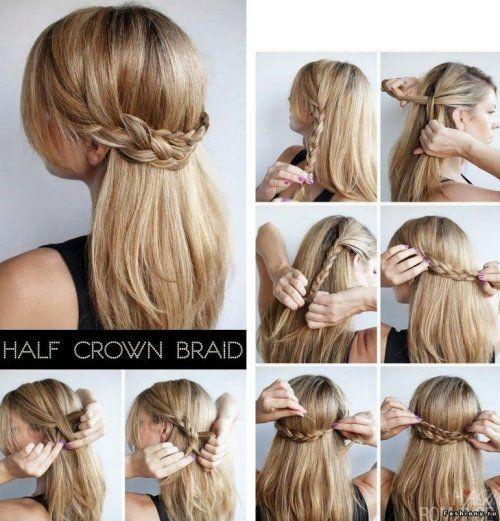 Peinados Para Cabello Lacio Largo Suelto Y Faciles Trenzas Pelo Suelto Peinados Cabello Lacio Peinados Con Trenzas