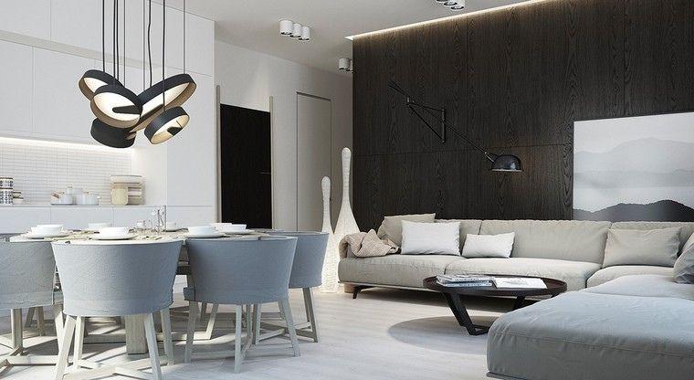 Interieur Gris Et Blanc De Style Minimaliste En 40 Photos Qui