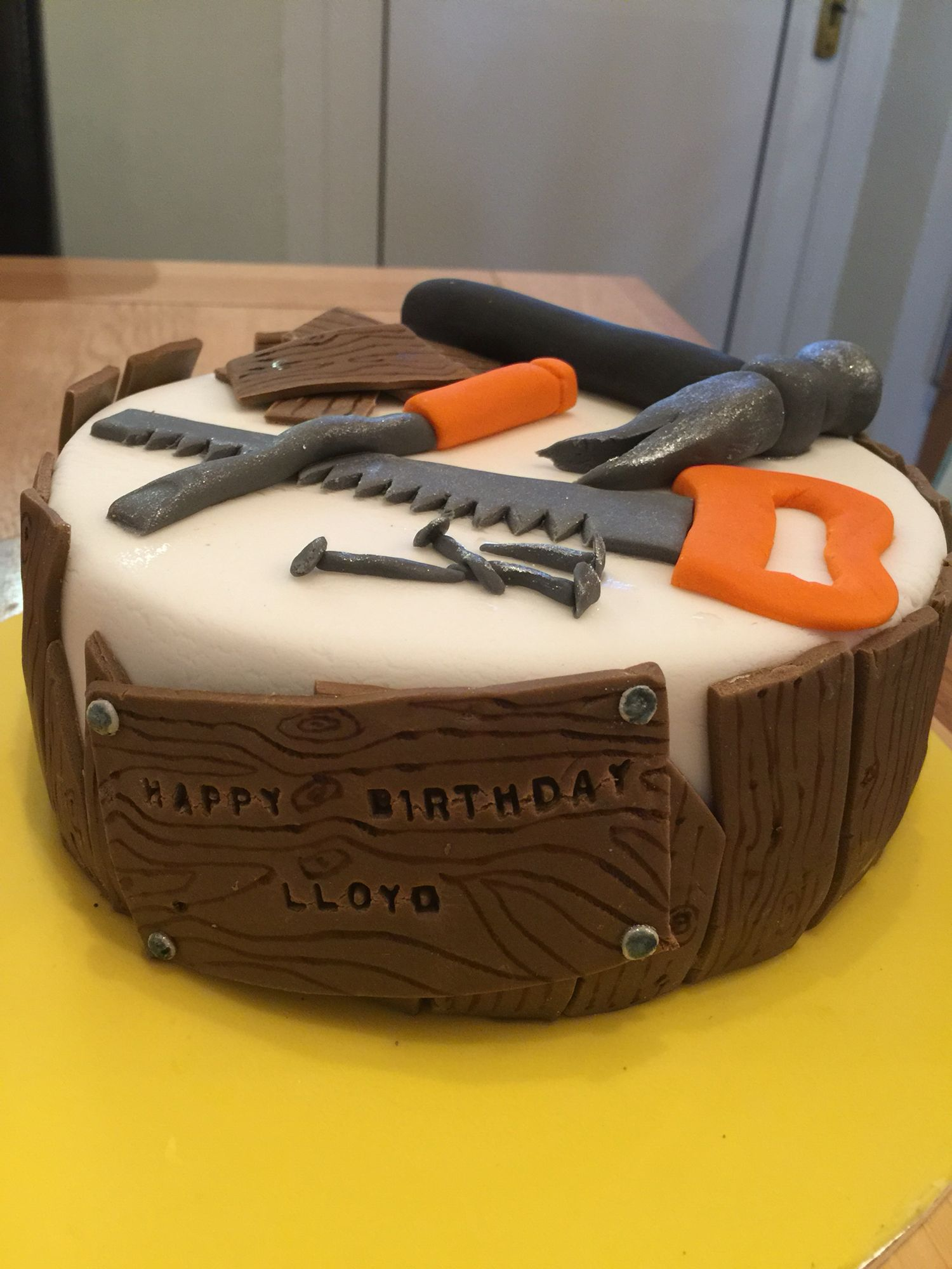 Chocolate Carpenters Cake | Justin's surprise 40th ...