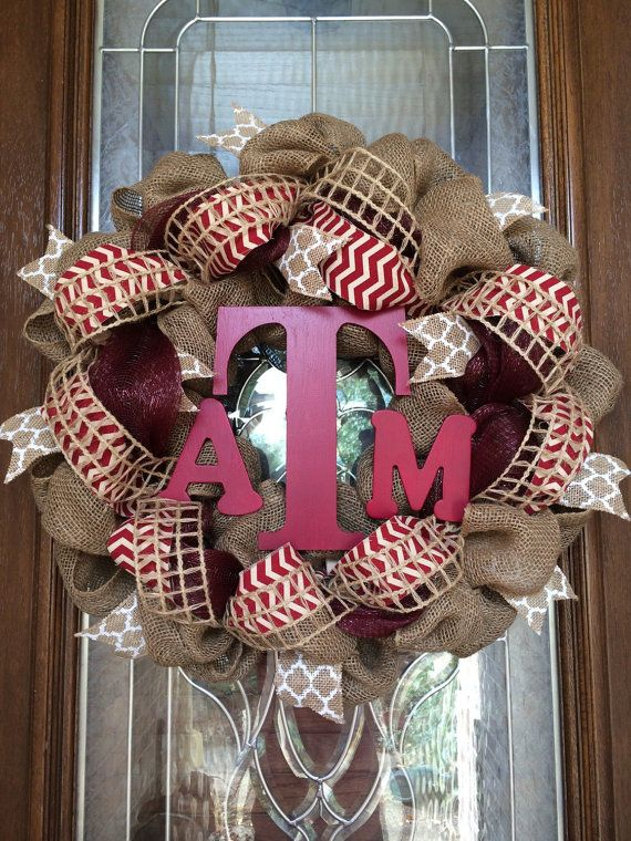 Extra Fluffy Aggie Wreath by TheWhimsyWreath on Etsy