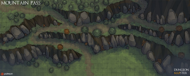 Dungeon Mapster is creating maps for pathfinder, tabletop