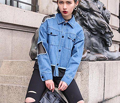 Oversize jeansjacke nahen
