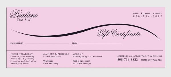 Custom Gift Certificate Template 2 Templates Example Templates Example Certificate Templates Gift Certificate Template Free Gift Certificate Template