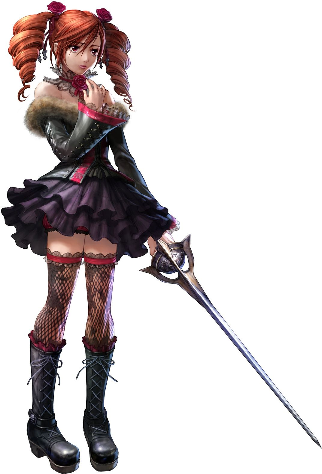 Soul Calibur V Anime Characters : One of my favorite soul calibur characters anime art