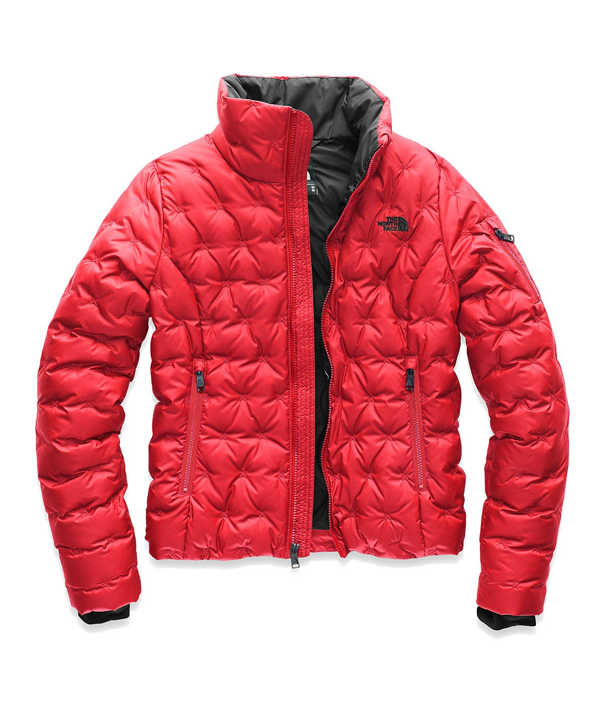 Women S Holladown Crop Jacket The North Face In 2021 Red North Face Jacket Crop Jacket Jackets [ 1396 x 1200 Pixel ]