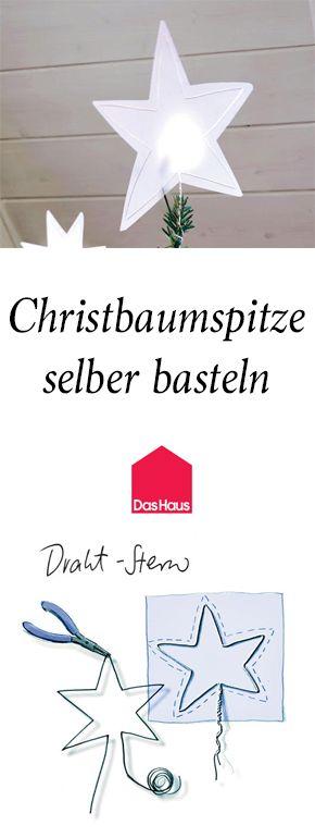 Christbaumspitze Basteln Kreative Ideen Zum Selbermachen