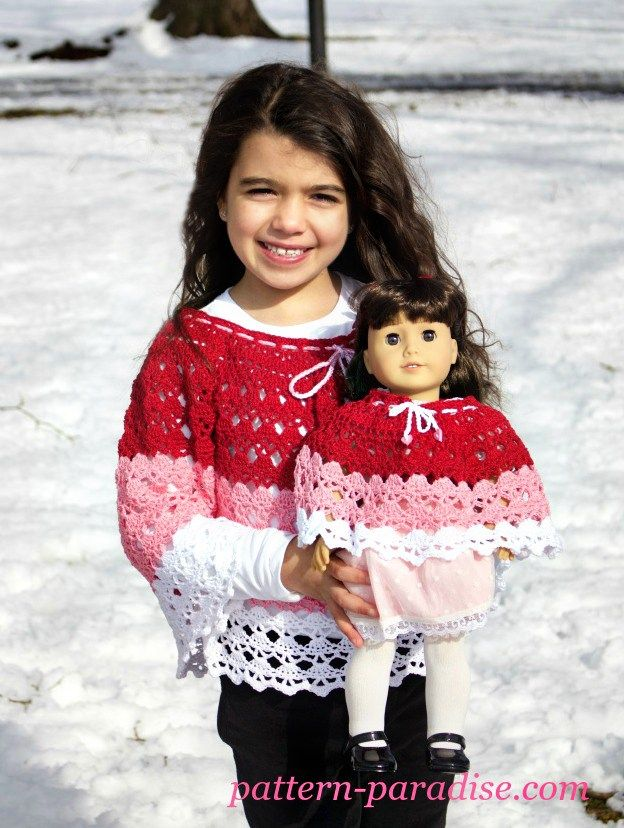 Crochet Abbys Poncho Crochet Creative Creations Ponchos Free