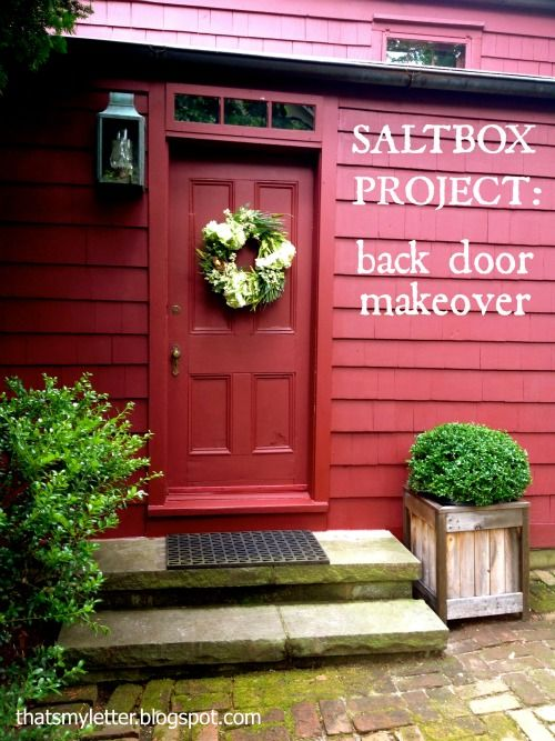 Everything Painted Benjamin Moore Cottage Red The Saltbox Project