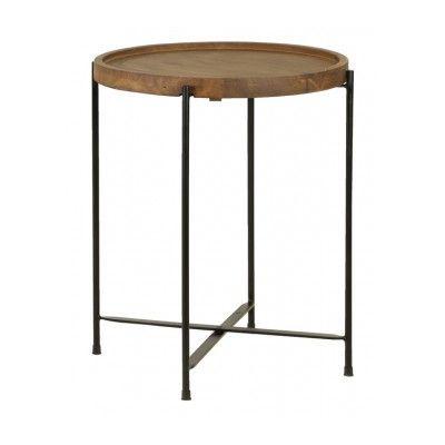 LightLiving Salitre Wood End Table