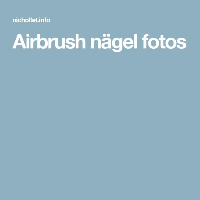 Airbrush nägel fotos