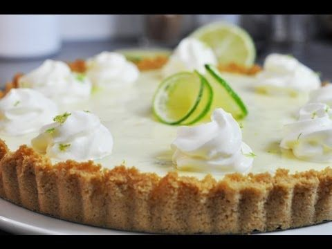 Recette de la tarte au citron vert de floride ou key lime - Herve cuisine tarte citron ...