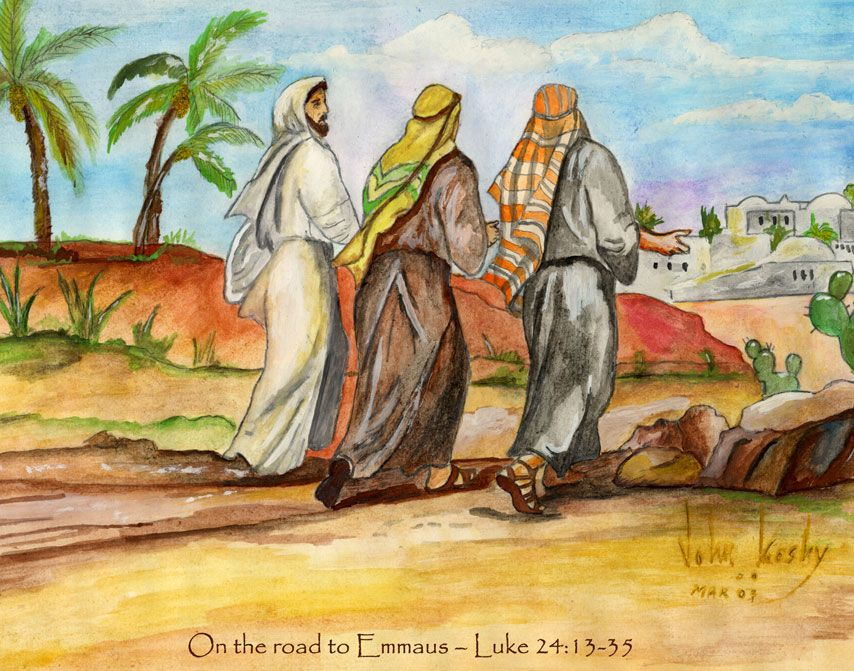 That Very Day Two Of Them Were Going To A Village Named Emmaus
