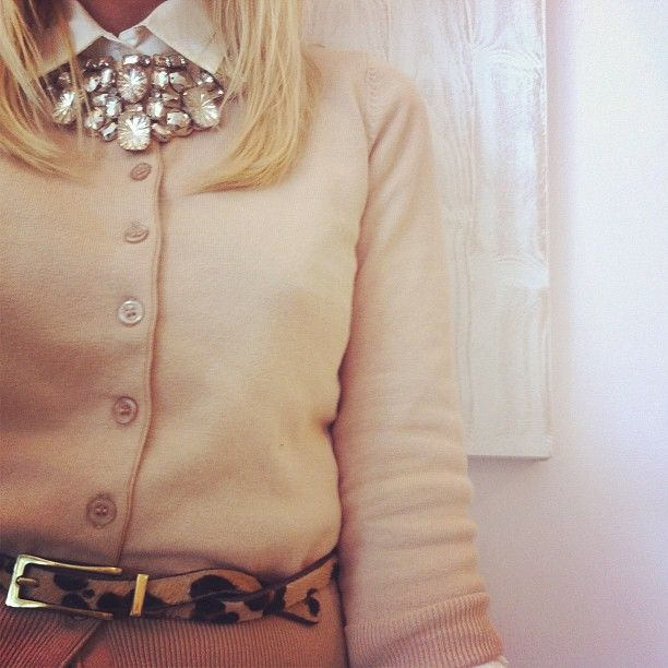 cinto + colar