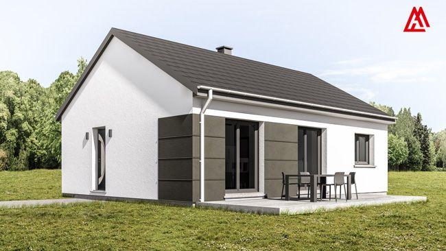 Maison contemporaine avec garage intégré | Nos créations 2016 ...