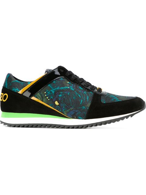 Kenzo 'k-run' Flying Tiger Sneakers