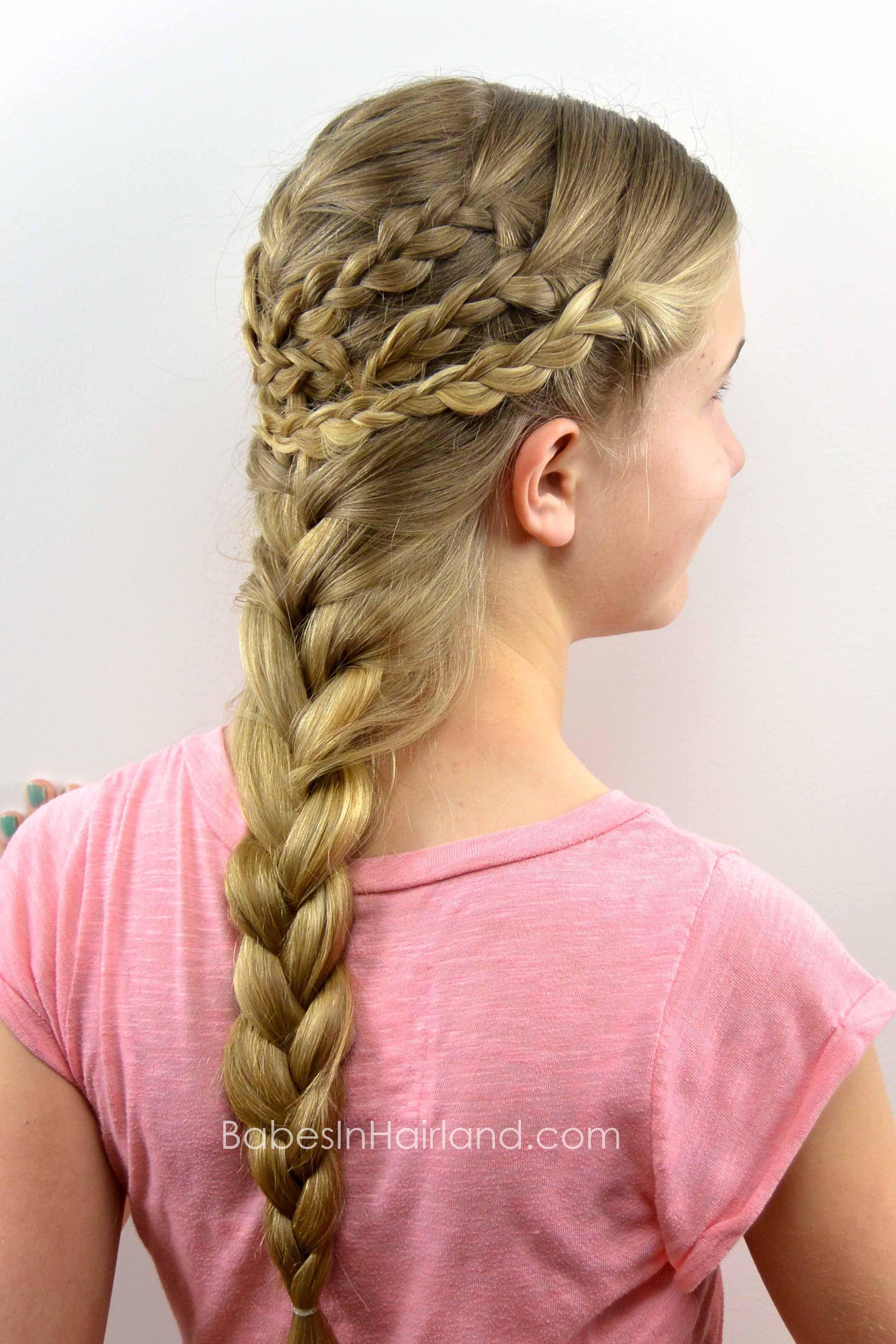 Triple braided boho style from babesinhairland boho braids