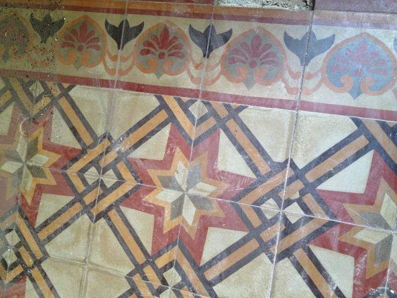 Cementine mattonelle antiche in pasta di cemento bagni flooring