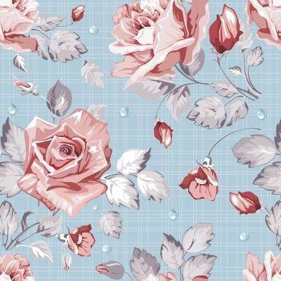 pingl par chez marie sur papiers peints floraux pinterest papier peint floral papier et. Black Bedroom Furniture Sets. Home Design Ideas