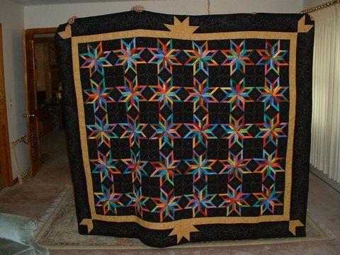 Carol Doak paper pieced quilt