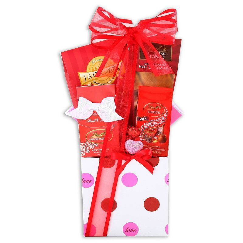Alder Creek Be My Valentine Gift Basket, Multicolor